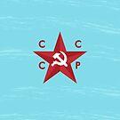 CCCP Star by Alejandro Durán Fuentes