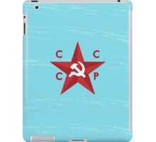 CCCP Star iPad Case/Skin