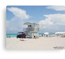 Weekend at the Beach Canvas Print