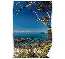 jervis bay - from huskisson Poster