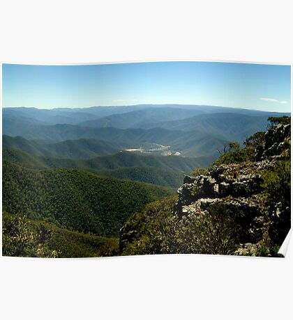 Billy Goat Bluff Track,Victorian High Country Poster