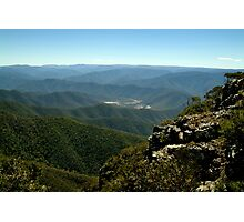 Billy Goat Bluff Track,Victorian High Country Photographic Print