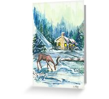 Winter Scene No.1 - Season's Greetings Greeting Card