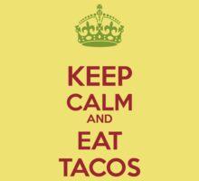 Keep Calm and eat Tacos Kids Tee