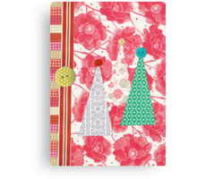 A Very Quirky Christmas Canvas Print