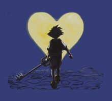 Kingdom Hearts Sora Walking by Jeff Lee