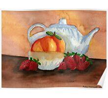 Teapot Still Life Poster