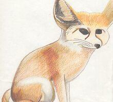 Fennec Fox by melly385