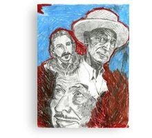 Writers Canvas Print