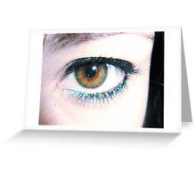 oh, eyes II Greeting Card