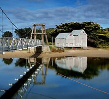 Swing Bridge Lorne by Joe Mortelliti