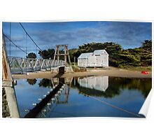 Swing Bridge Lorne Poster