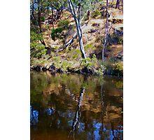 reflective colours Photographic Print