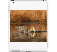 Great Blue Heron - Fishing iPad Case/Skin