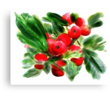 Holly Daze Canvas Print