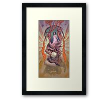 The Packetboat Fish Framed Print