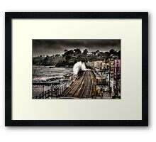The Great Storm Framed Print