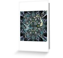 Words Inspire Art Inspires Music Greeting Card