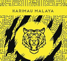 Malayan Tiger (Harimau Malaya) by adwankhesoggi