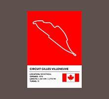 Circuit Gilles Villeneuve - v2 Unisex T-Shirt