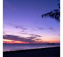 Pure Purple on Heron Island Photographic Print