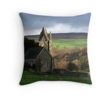 Abbey In The Dales Throw Pillow