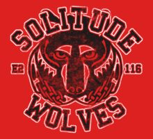Skyrim - Football Jersey - Solitude Wolves by creepingdeath90