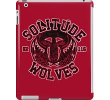 Skyrim - Football Jersey - Solitude Wolves iPad Case/Skin