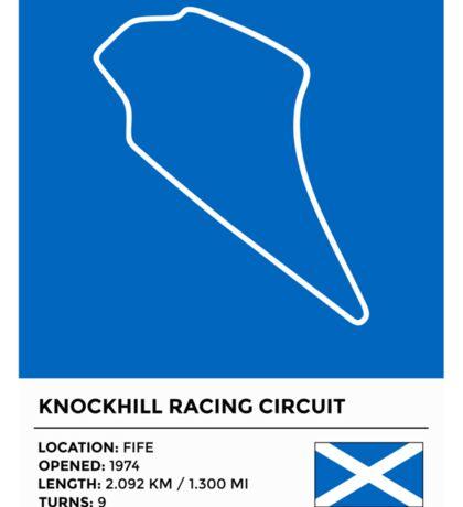 Knockhill Racing Circuit - v2 Sticker