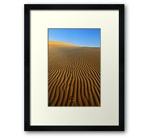 Journey to Nowhere Framed Print