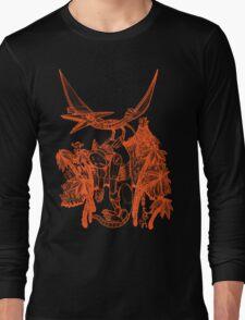 pterodactyl pilot Long Sleeve T-Shirt