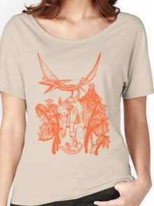 pterodactyl pilot Women's Relaxed Fit T-Shirt