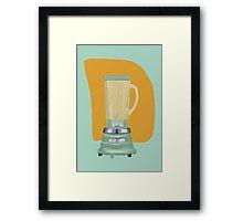 Blender Framed Print