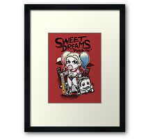 Sweet Dreams Puddin´ Framed Print