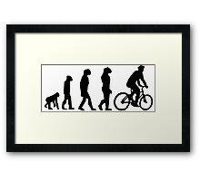 EVOLUTION CYCLE Framed Print