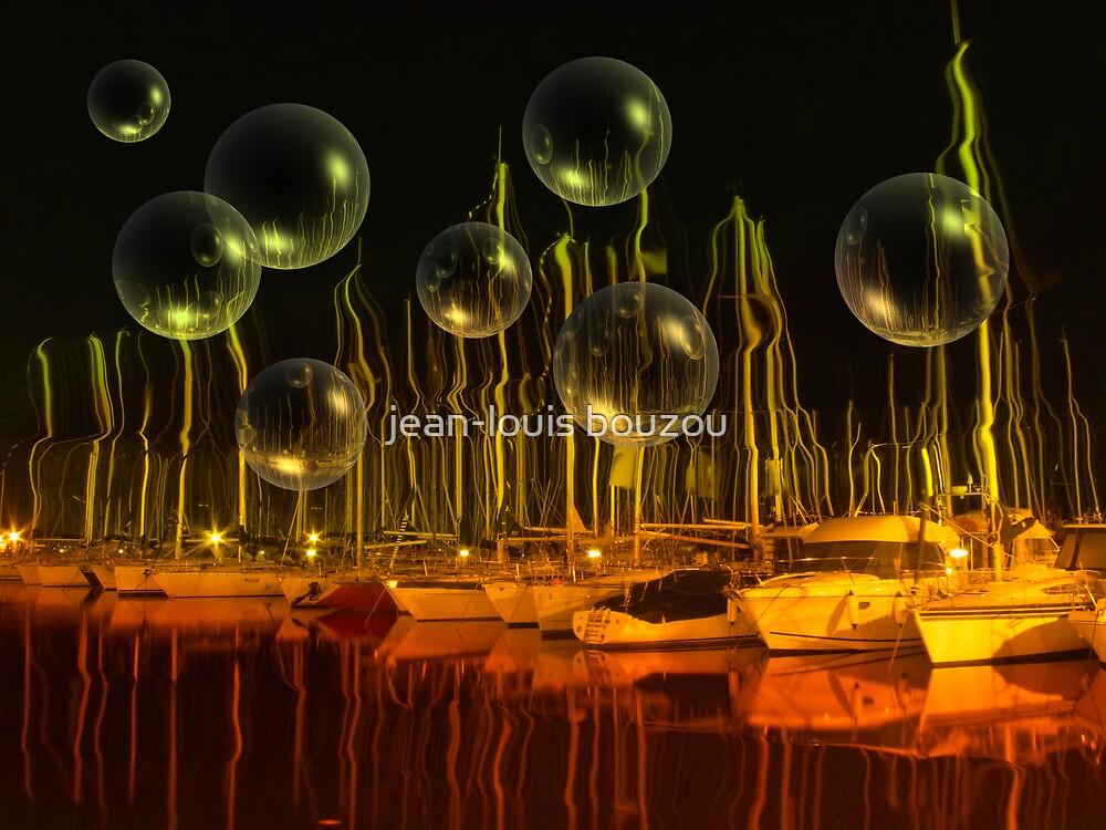 Bubble Harbor by jean-louis bouzou