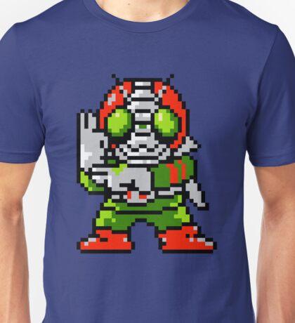 Kamen Rider V3 - NES Sprite Unisex T-Shirt