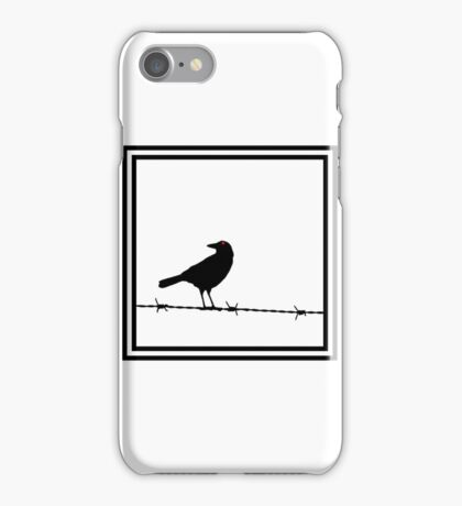 The Black Crow Knows iPhone Case/Skin