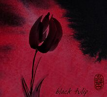 Black Tulip by Ron C. Moss