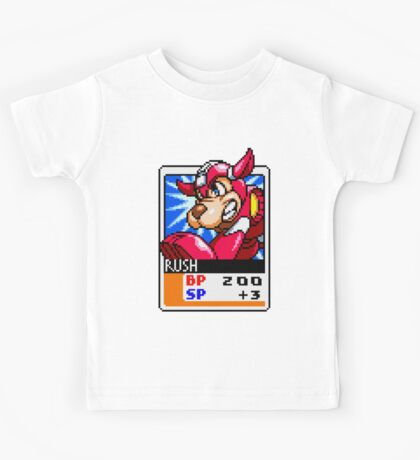 Rush - Mega Man Kids Tee