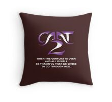 cant Throw Pillow