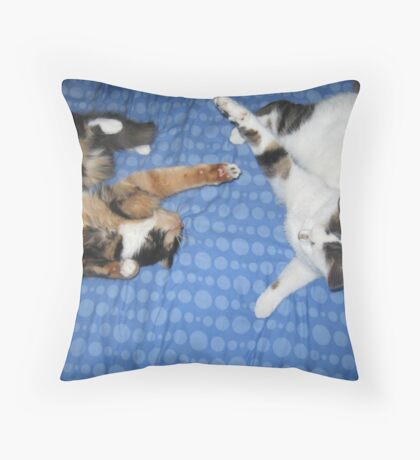 Let Battle Commence Throw Pillow