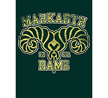 Skyrim - Football Jersey - Markarth Rams Photographic Print