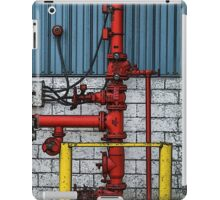 Red Pipes iPad Case/Skin
