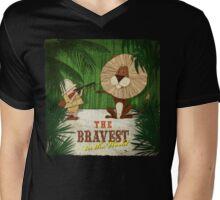 The bravest in the world - Hunter Mens V-Neck T-Shirt