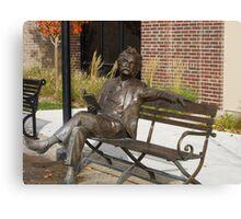 Mark Twain Statue #1 Canvas Print