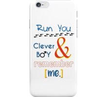 Doctor Who Clara and Eleven iPhone Case/Skin