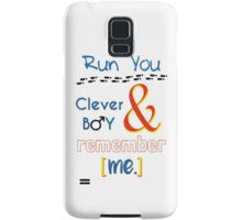 Doctor Who Clara and Eleven Samsung Galaxy Case/Skin