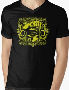 The only good system is a sound system Mens V-Neck T-Shirt