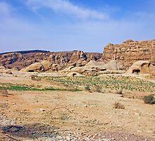 an inspiring Jordan landscape by beautifulscenes